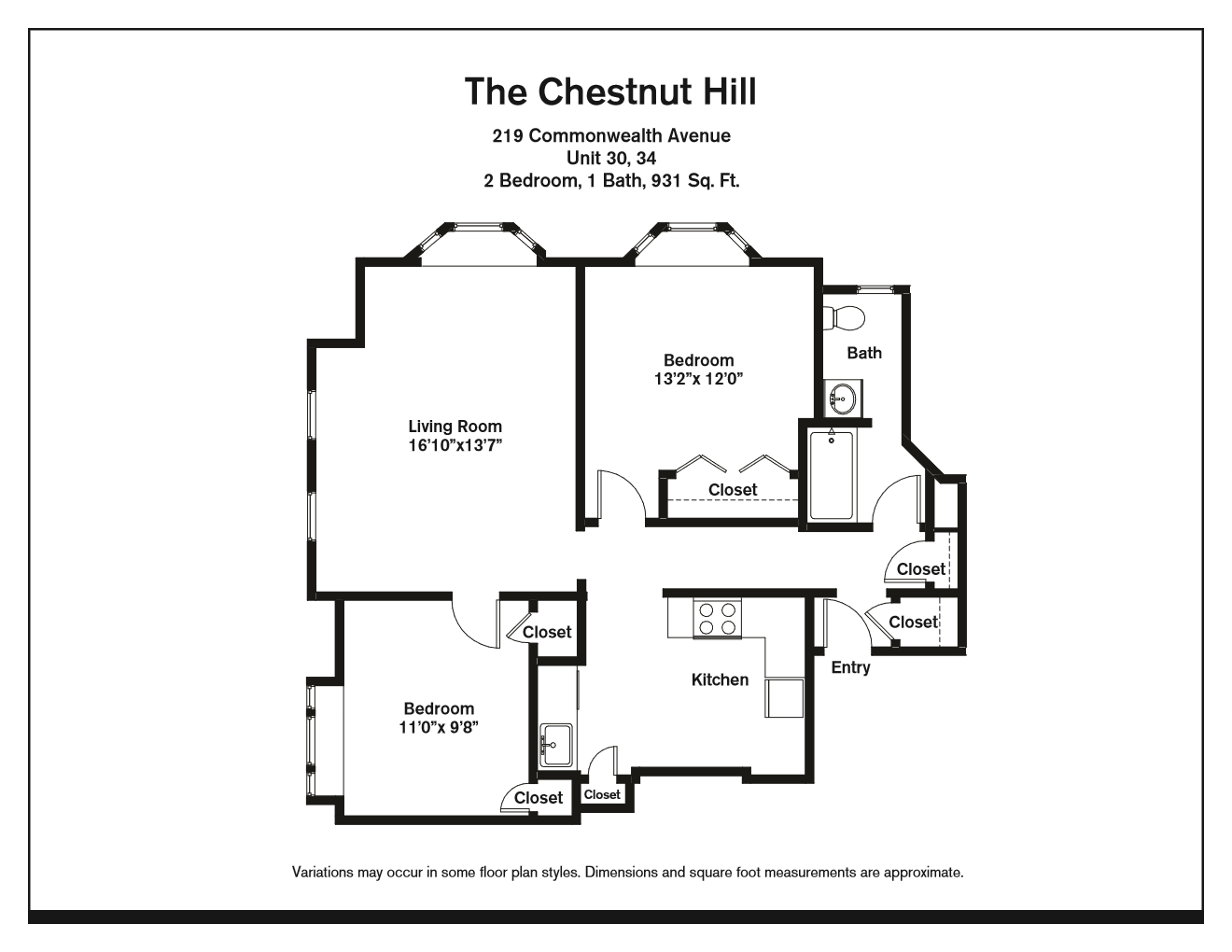 Click to view Floor plan Two Bedroom image 6