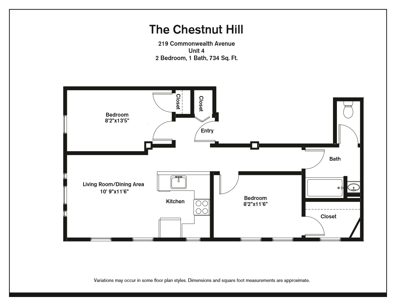 Click to view Floor plan Two Bedroom image 4