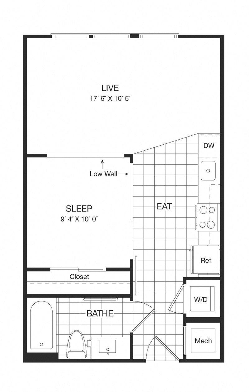 Apartment 29-636 floorplan