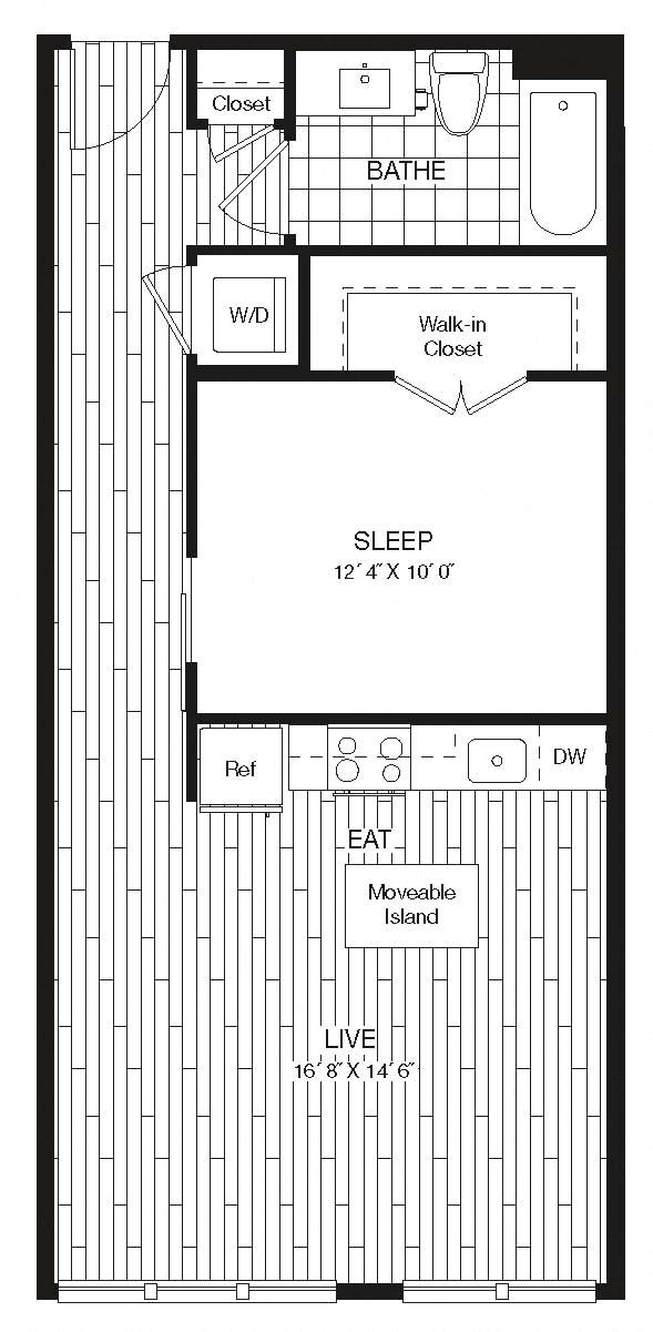Apartment 27-241 floorplan