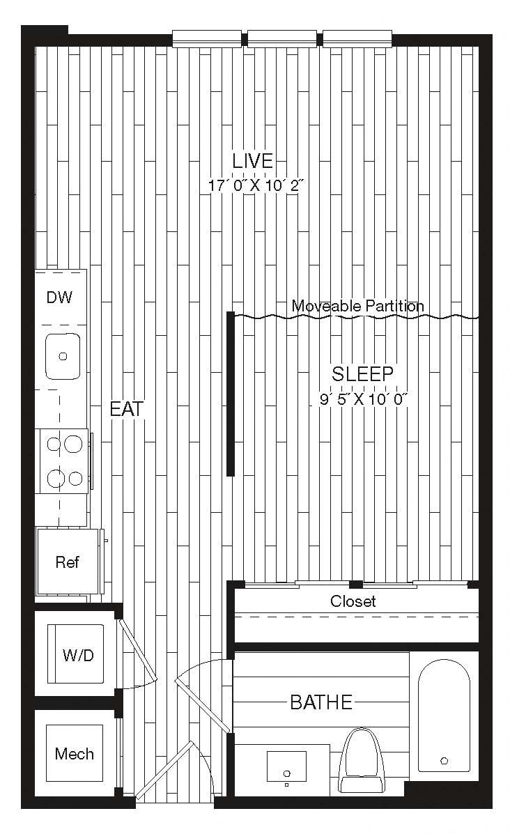 Apartment 27-234 floorplan