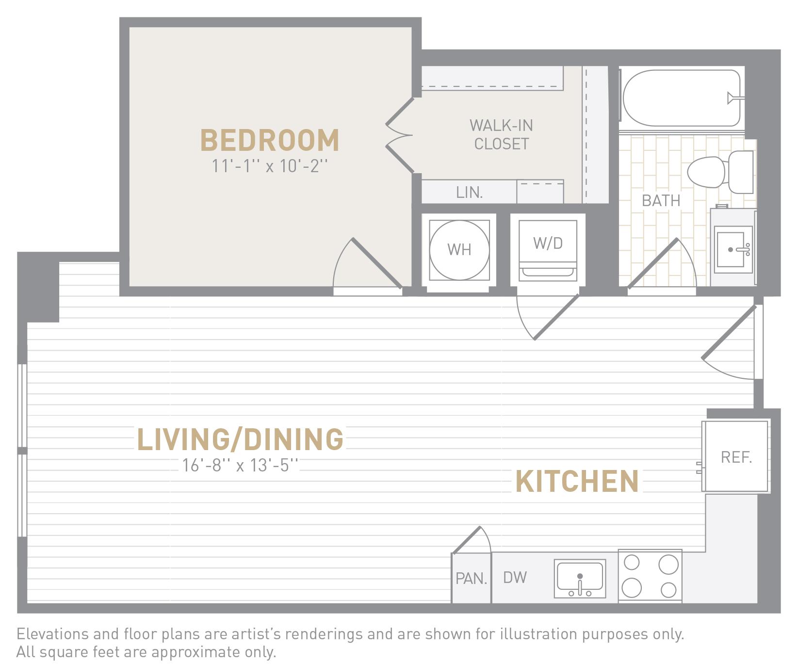 floor image of unit 0919