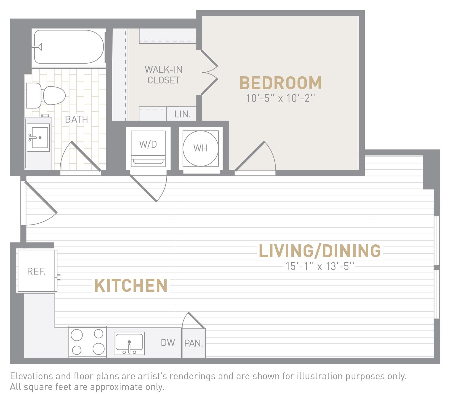 floor image of unit 0613