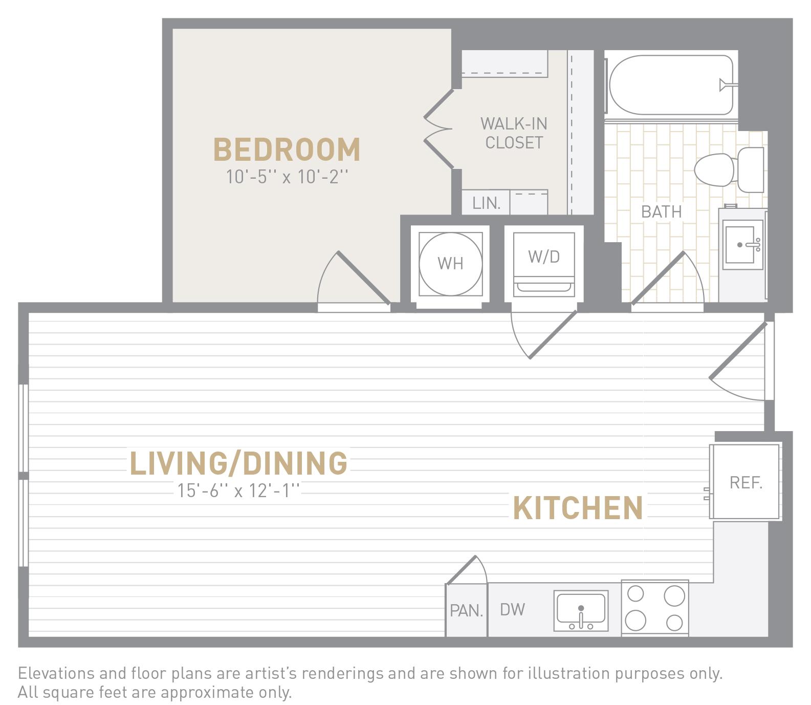 floor image of unit 0203
