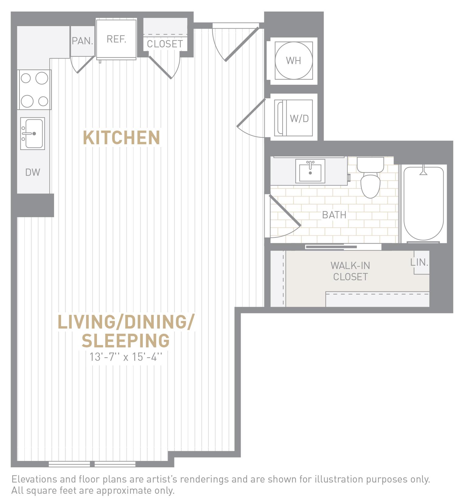floor image of unit 0321