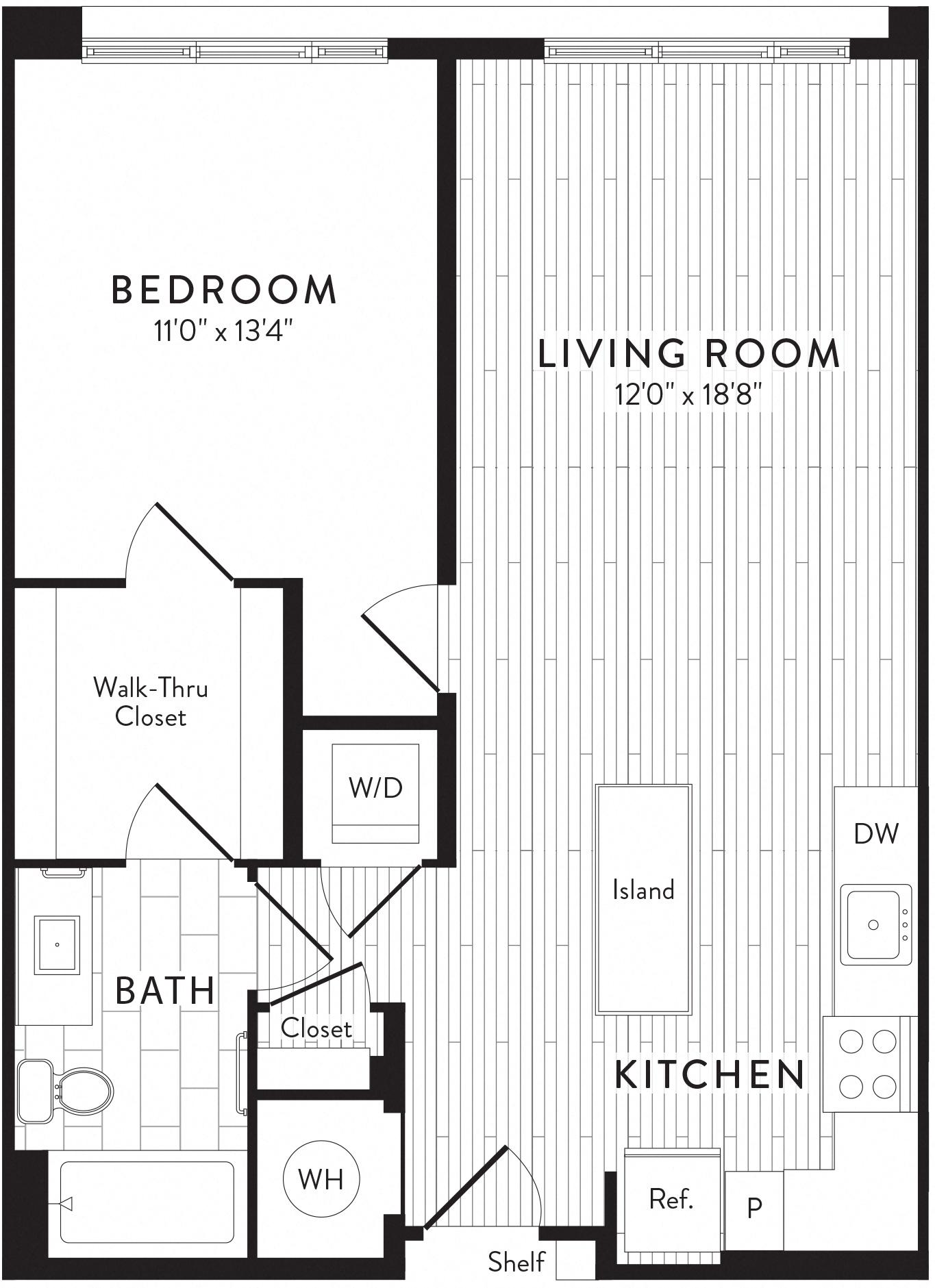 APT. 322 floor plan thumb
