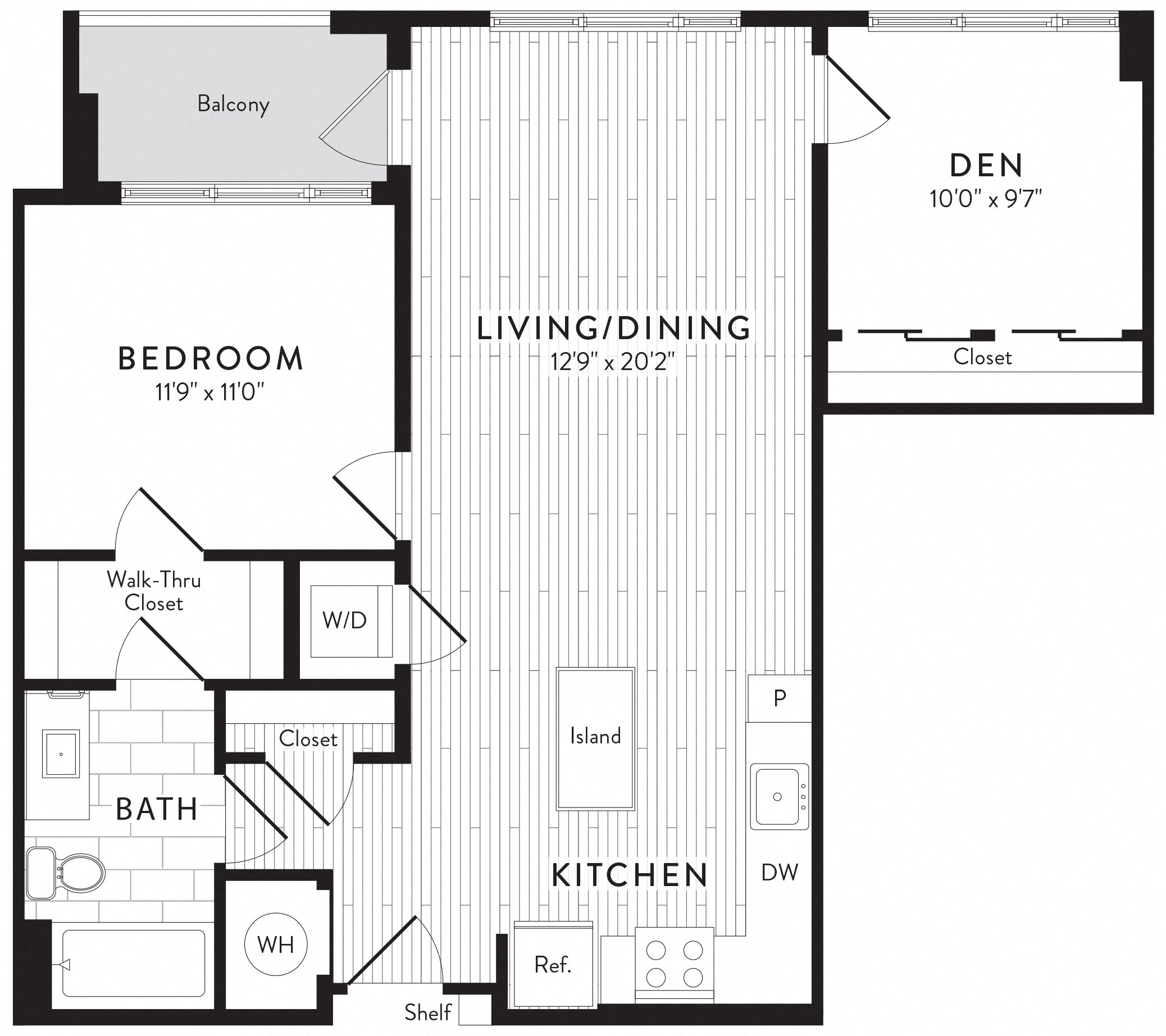 APT. 426 floor plan thumb