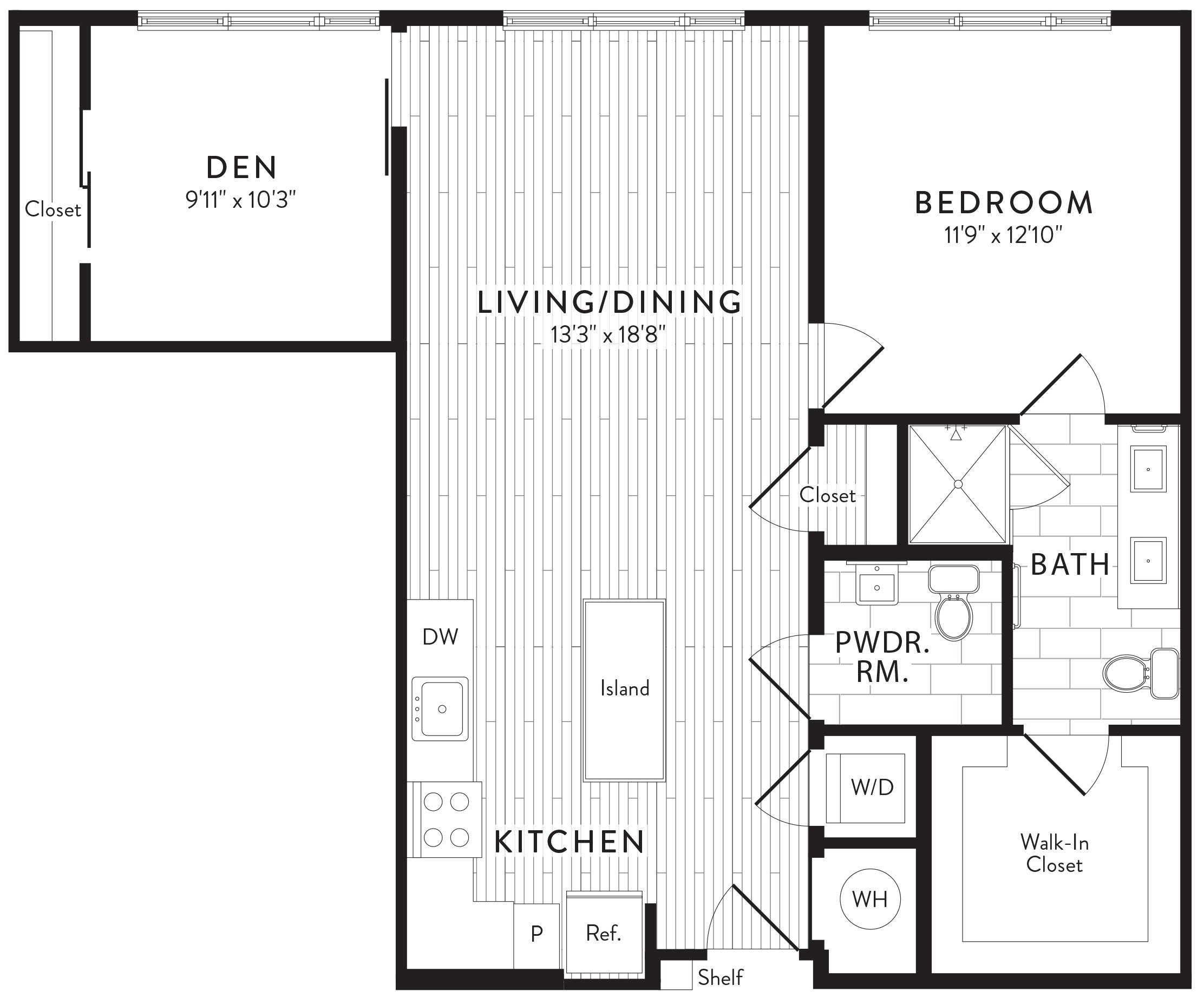 APT. 553 floor plan thumb