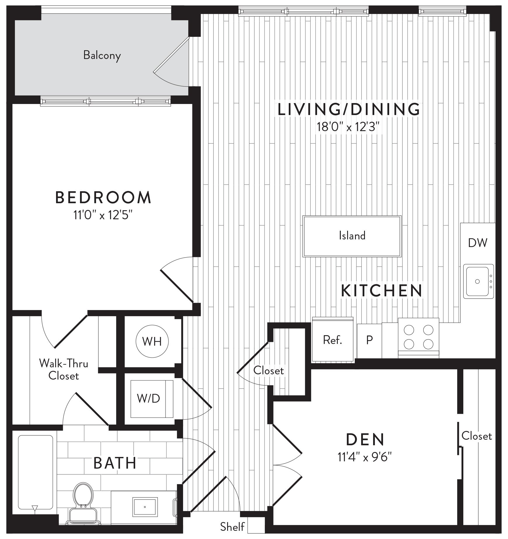 APT. 825 floor plan thumb