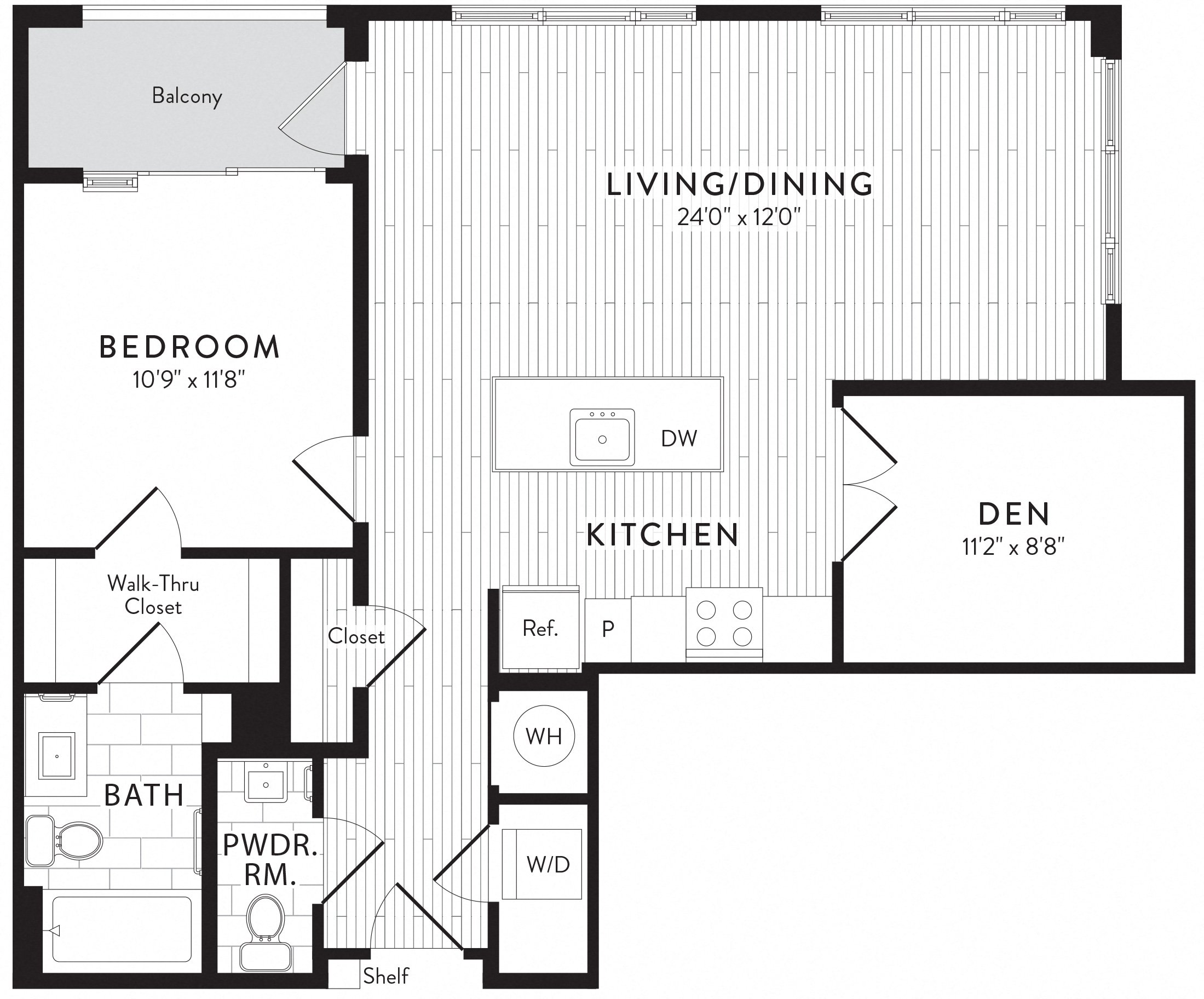 APT. 752 floor plan thumb