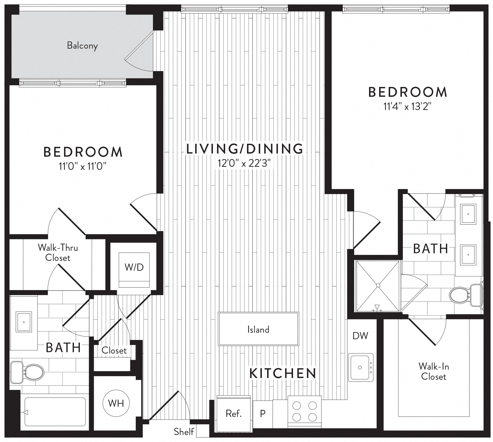 APT. 603 floor plan thumb