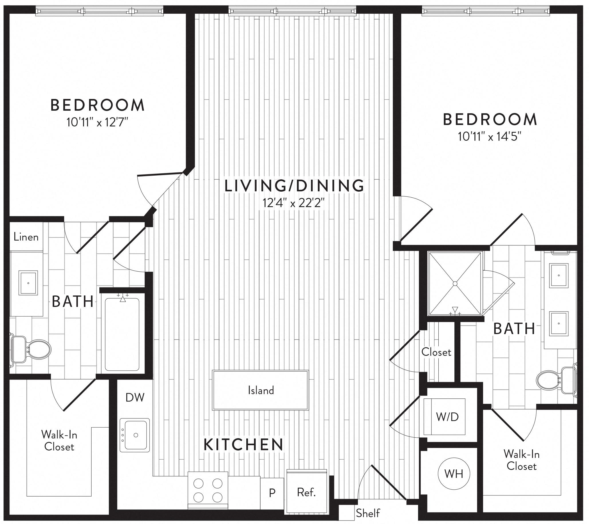 APT. 420 floor plan thumb