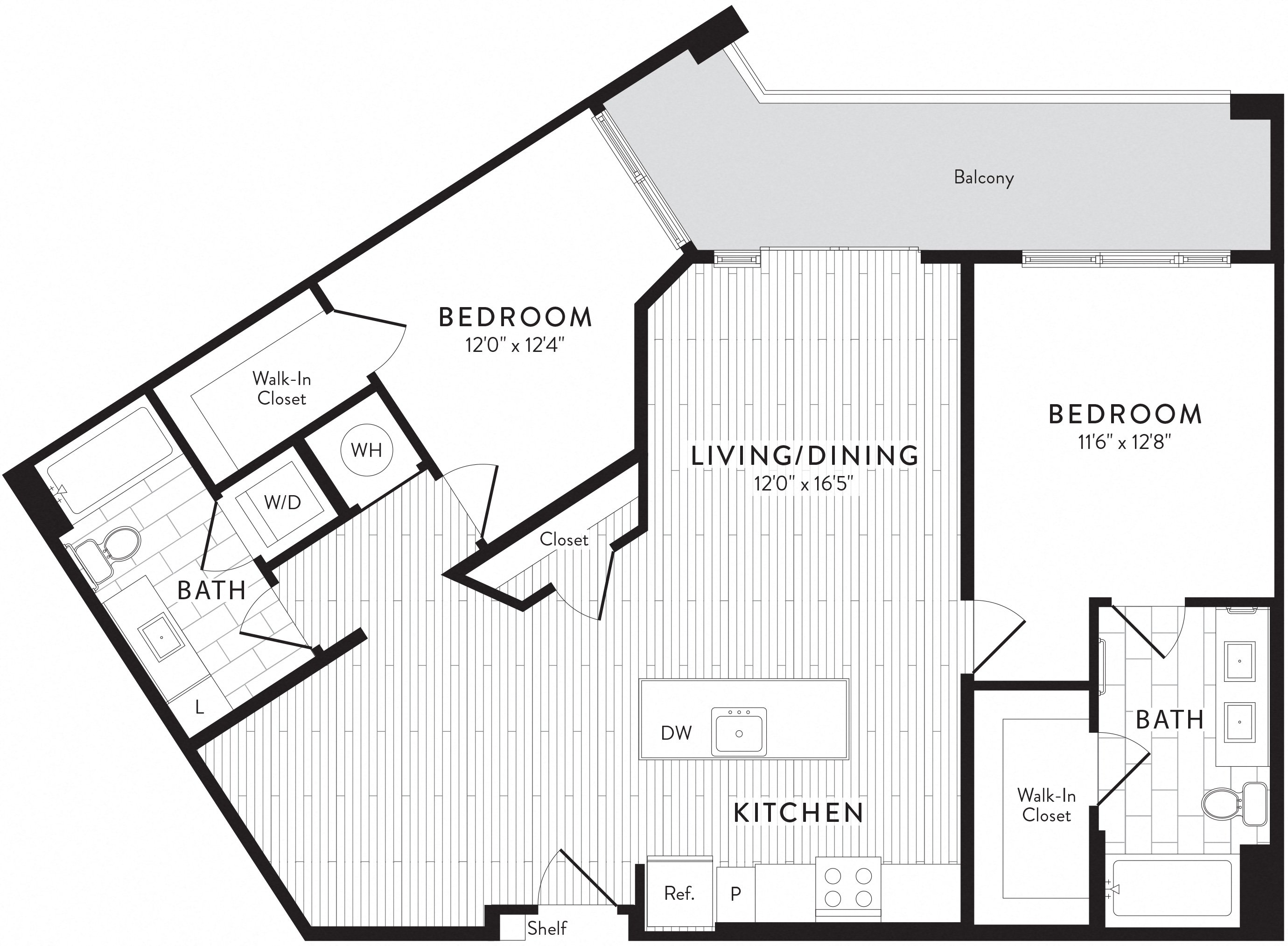 APT. 429 floor plan thumb