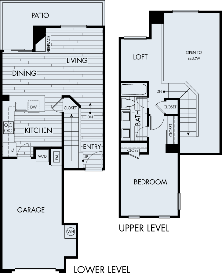 seabrook apartments dana point one bedroom one bathroom plan 1d