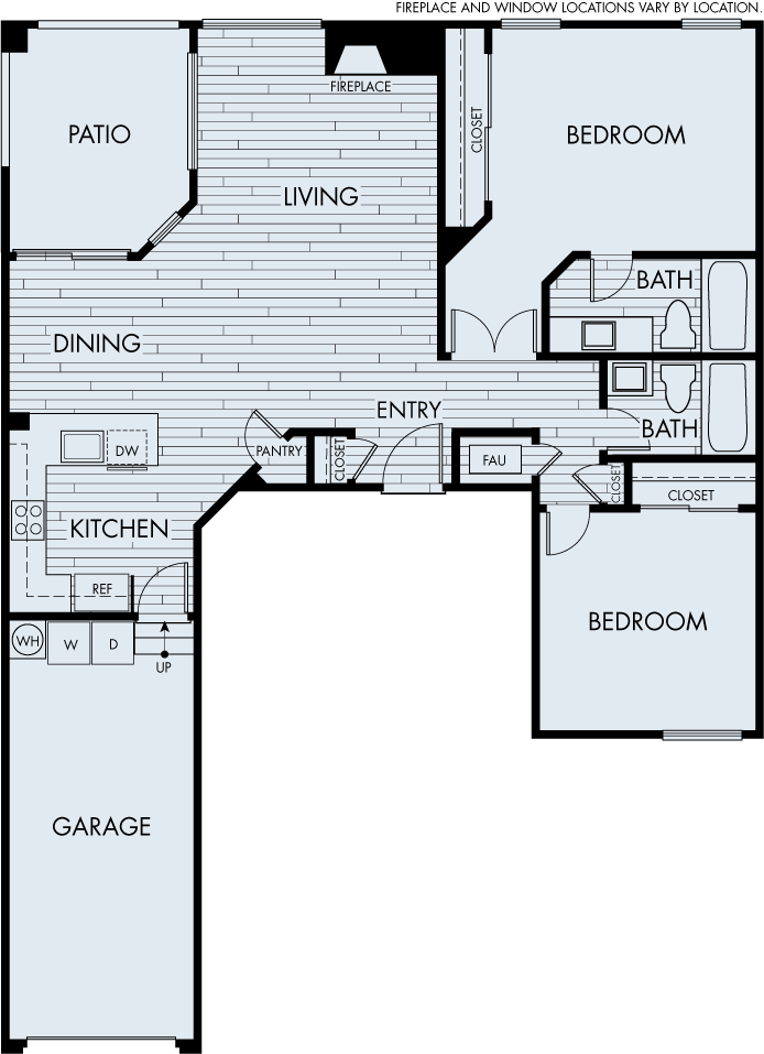 seabrook apartments dana point two bedroom two bathroom plan 2b