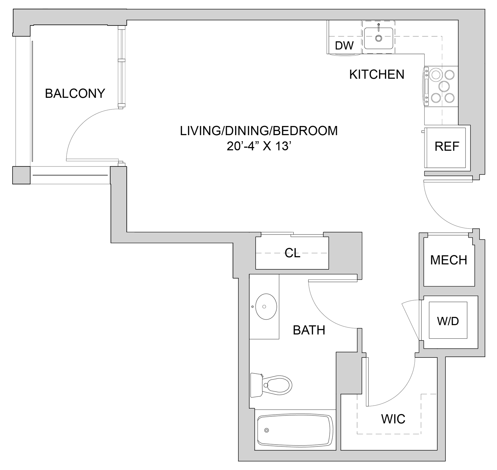 Floorplan N212 Image enlarged