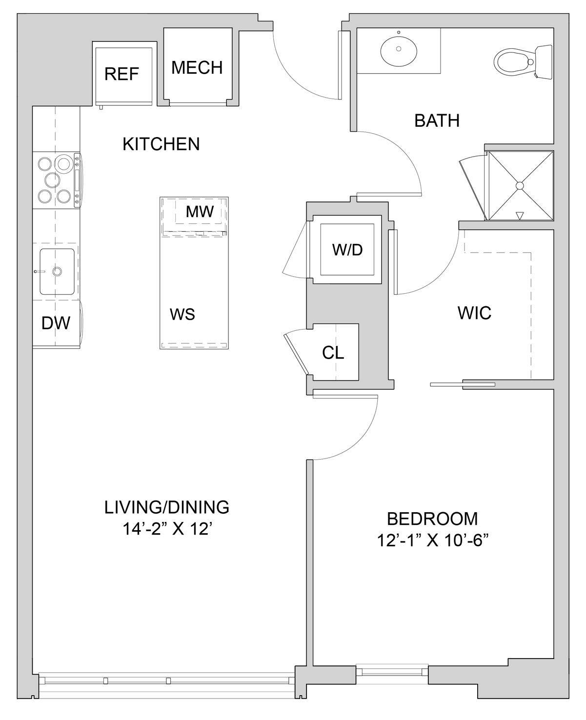Floorplan W416 Image
