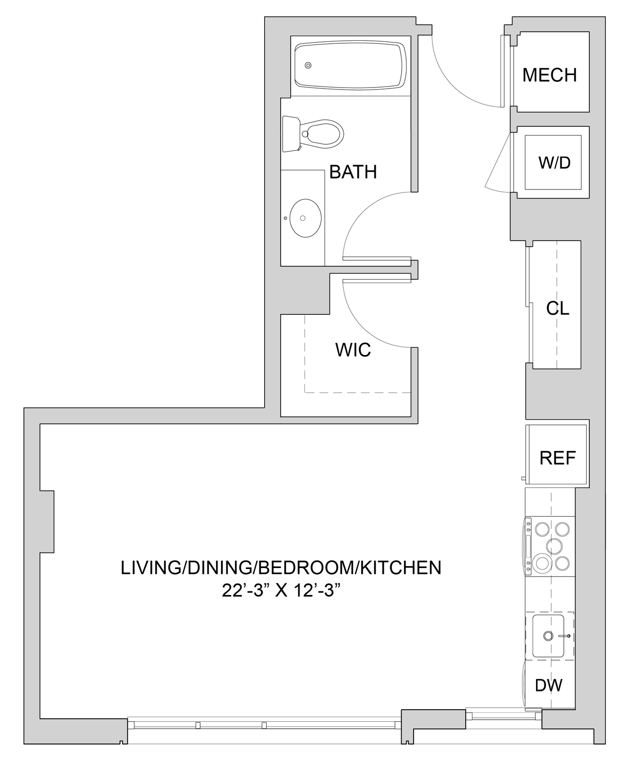 Floorplan W209 Image enlarged
