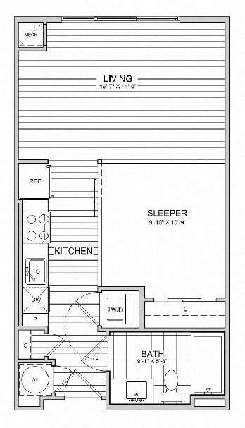 floorplan image of 635