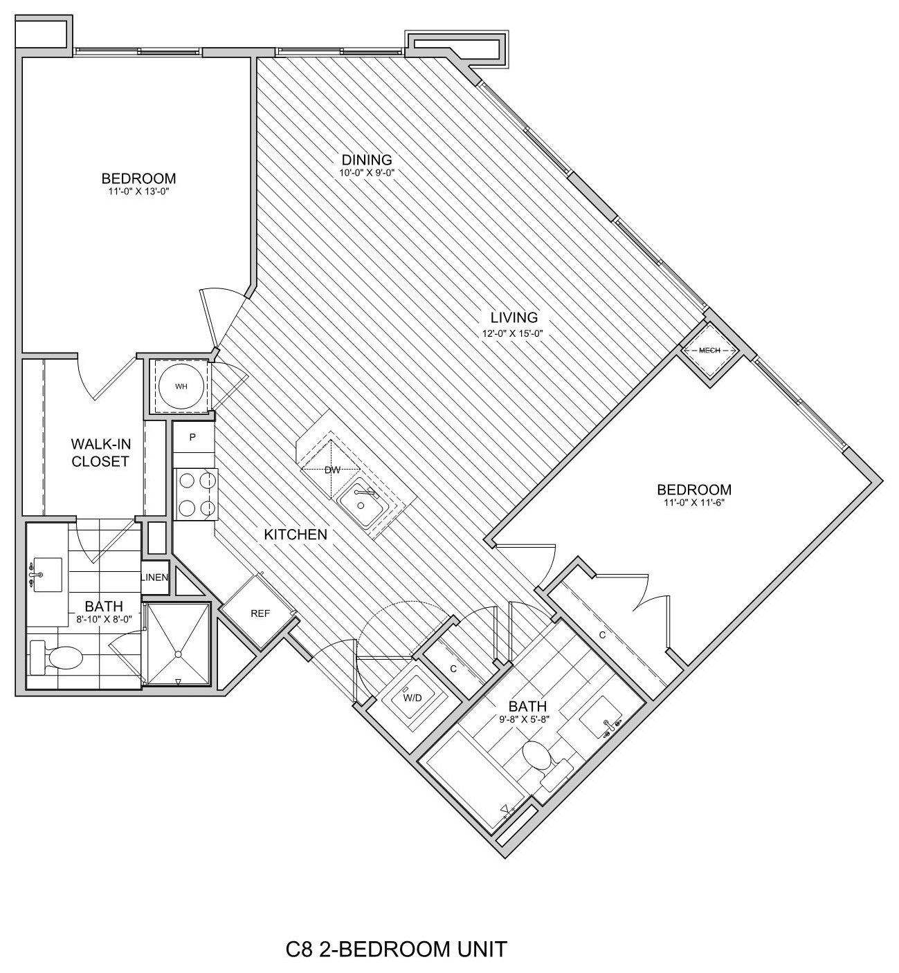 floorplan image of 310