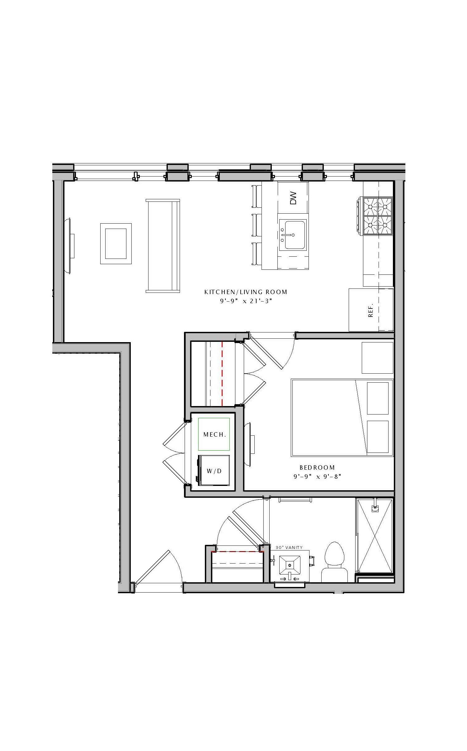 The Bradford Floor Plans