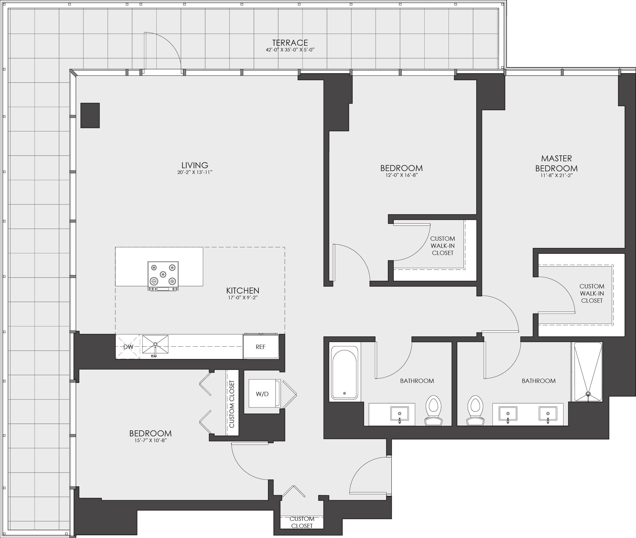 P0614109 796ccp01 221hubbard ph3b4 1511 2 floorplan