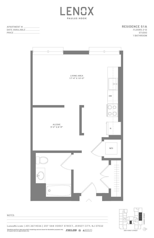 S1a 2 floorplan