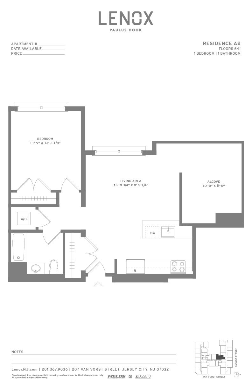 P0614246 a2 2 floorplan