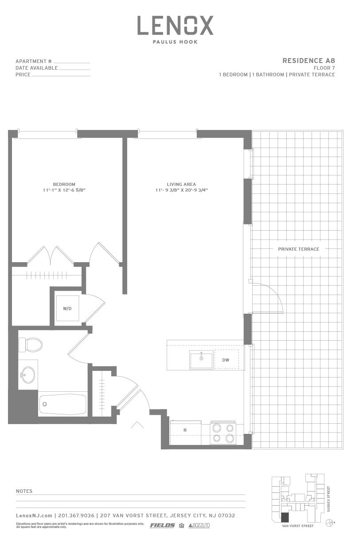 P0614246 a8 terrace 2 floorplan