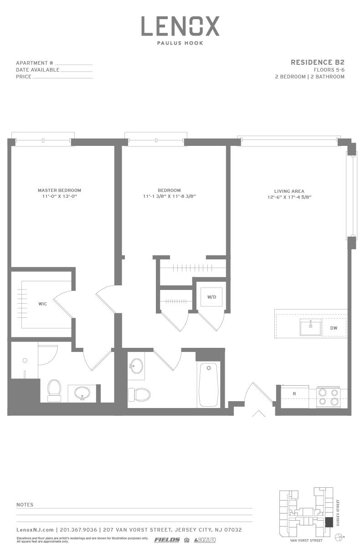 P0614246 b2 2 floorplan