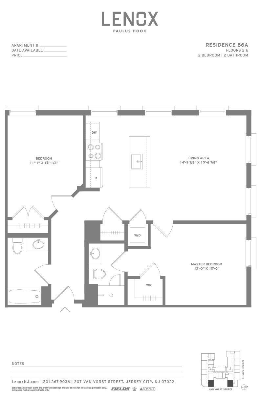 P0614246 b6a 2 floorplan