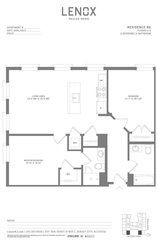 P0614246 b6 2 floorplan