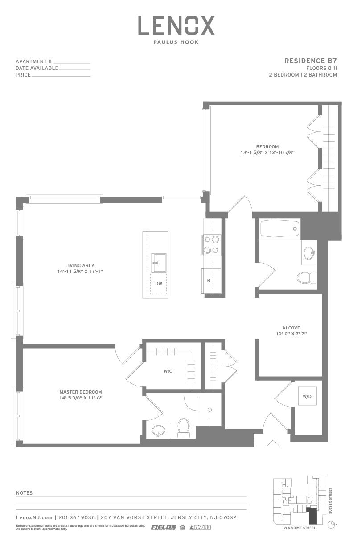 P0614246 b7 2 floorplan
