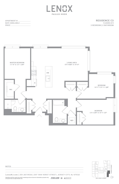 P0614246 c3 2 floorplan