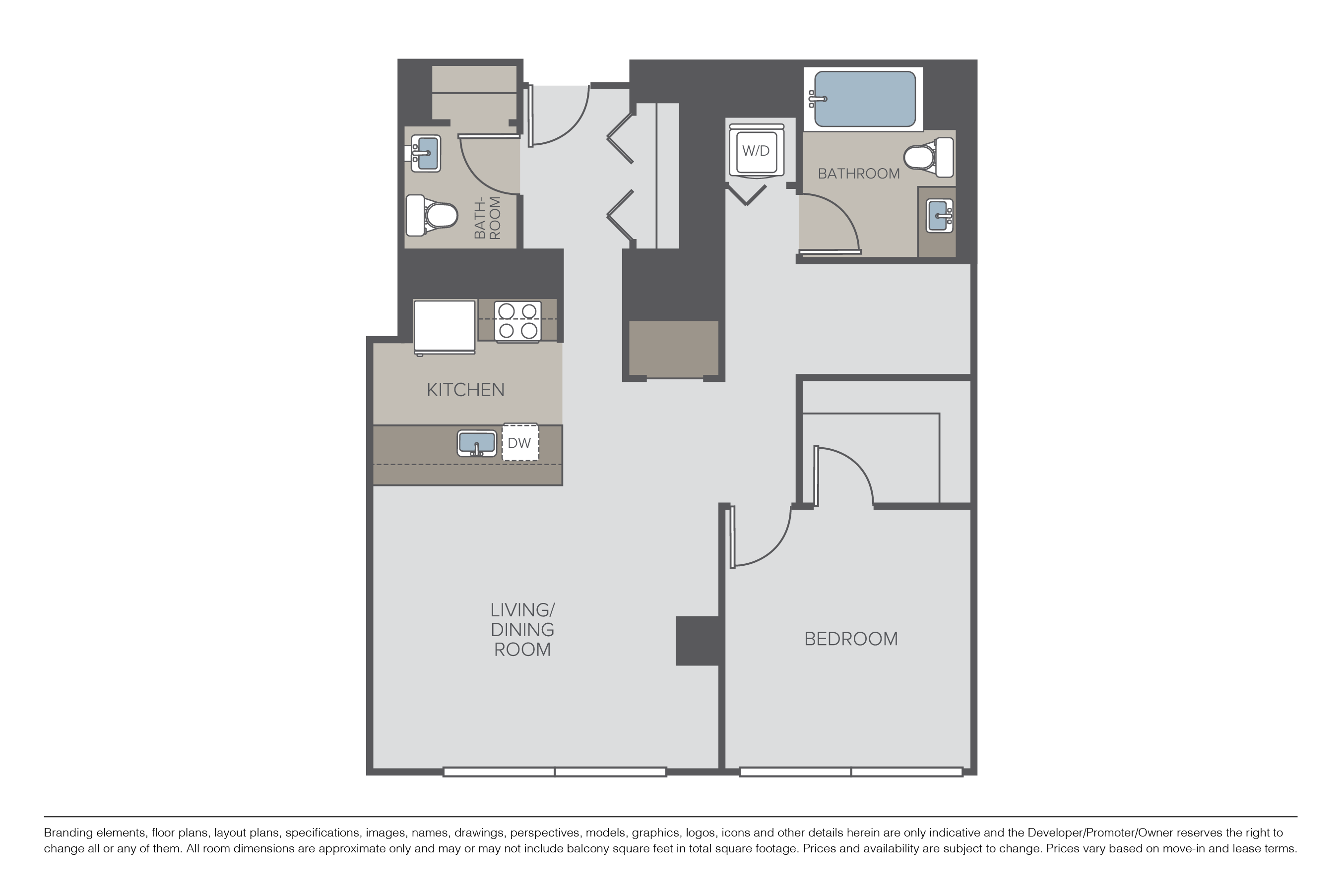 Floor Plans Pricing 360 Residences Apartments For Rent