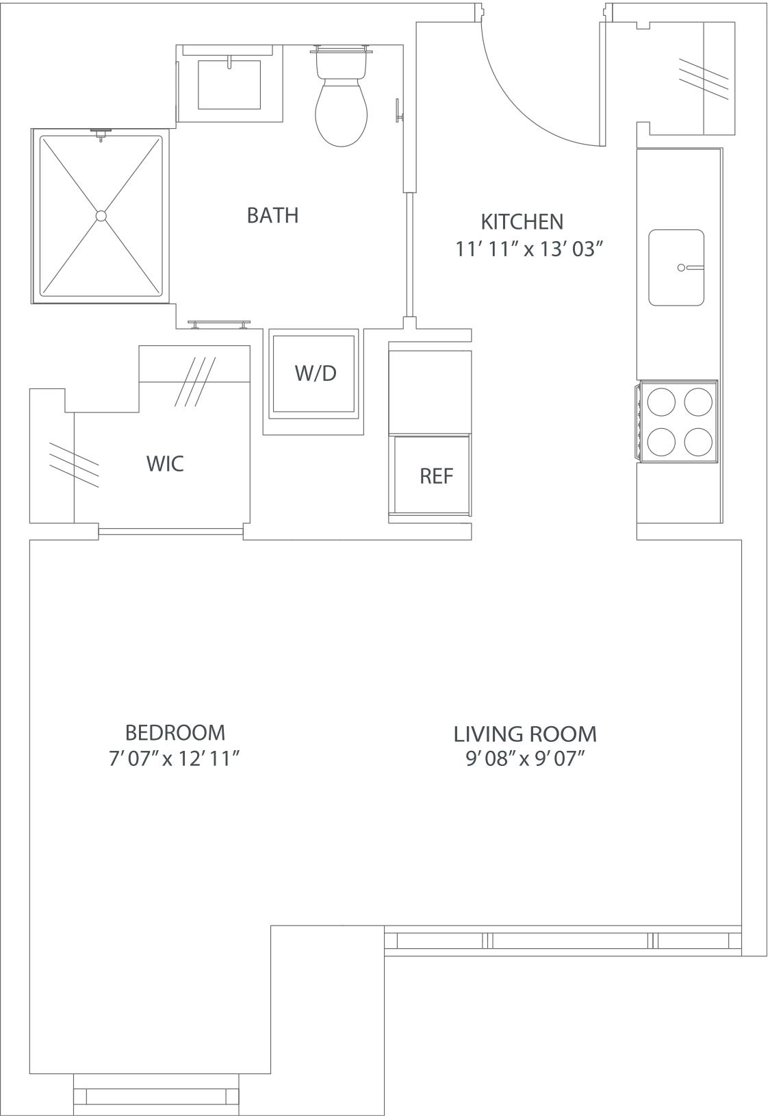 floorplan image of 1203