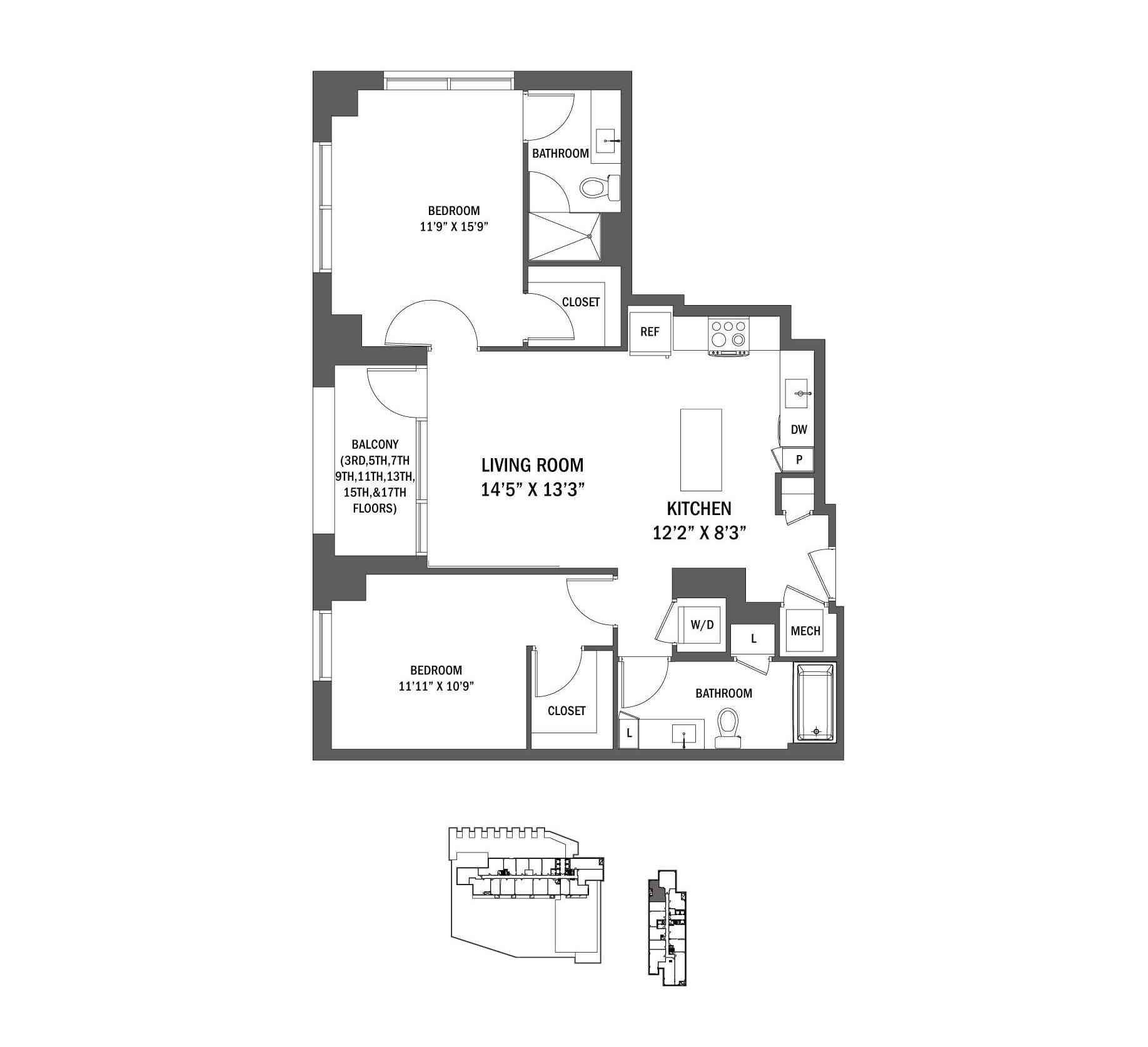 P0625338 789bc21 e03 typ 2 floorplan