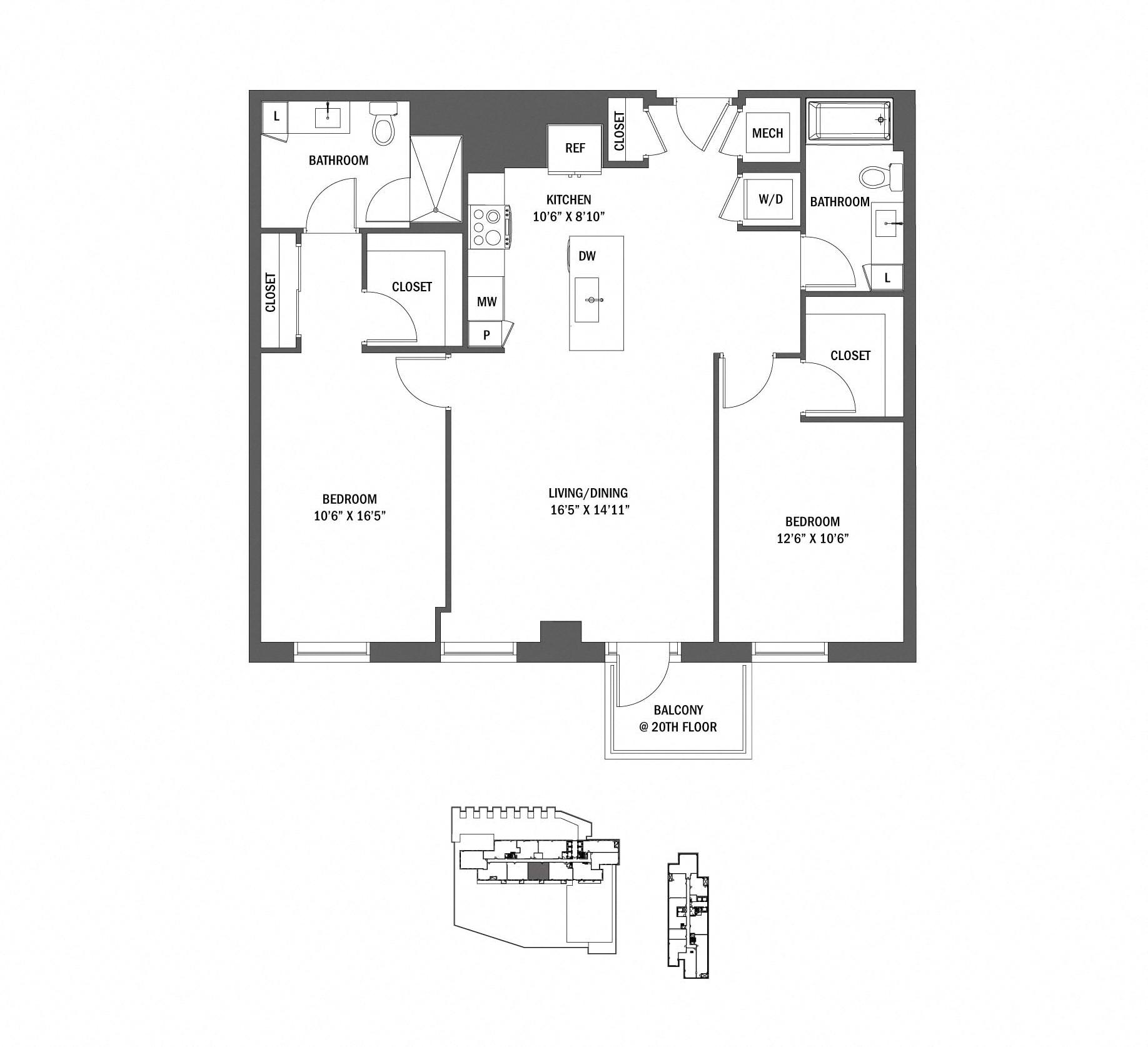 P0625338 w11 p 2 floorplan