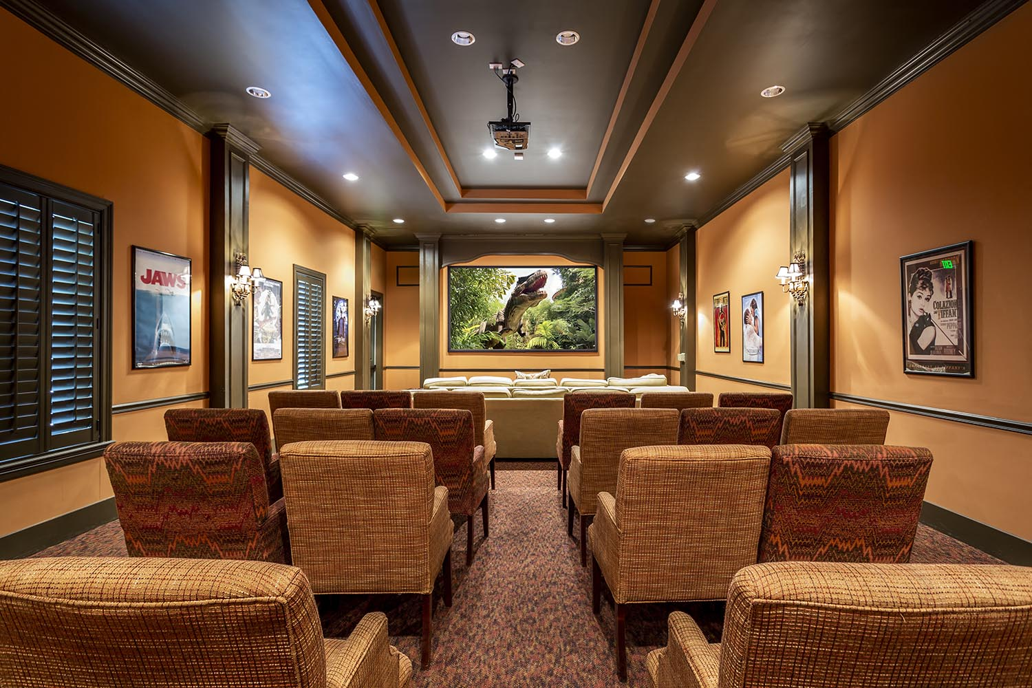 Multi-Media Theater & Presentation Room