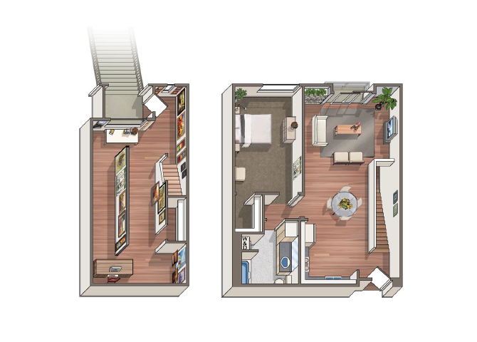 The Bellini floor plan.
