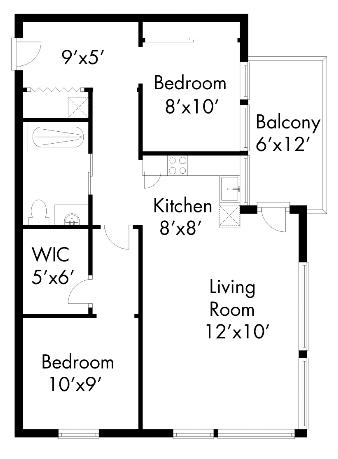 503Apartment Floor Plans