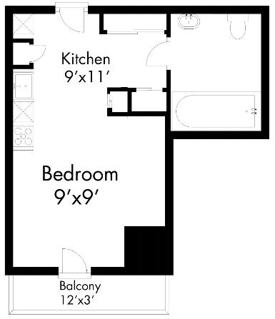 512Apartment Floor Plans