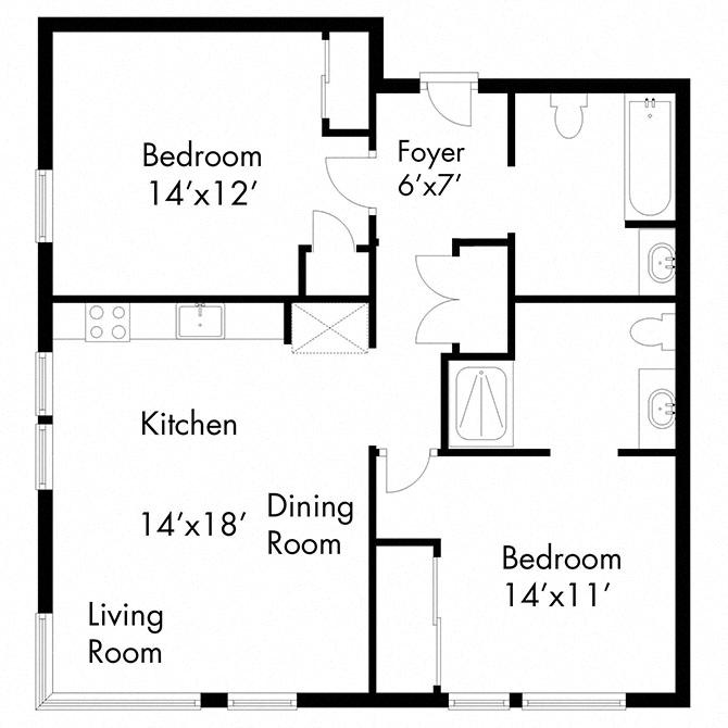 506Apartment Floor Plans