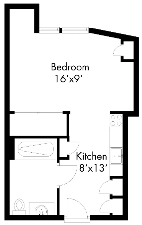 523Apartment Floor Plans