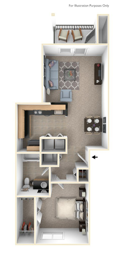 Two Bedroom Two-story