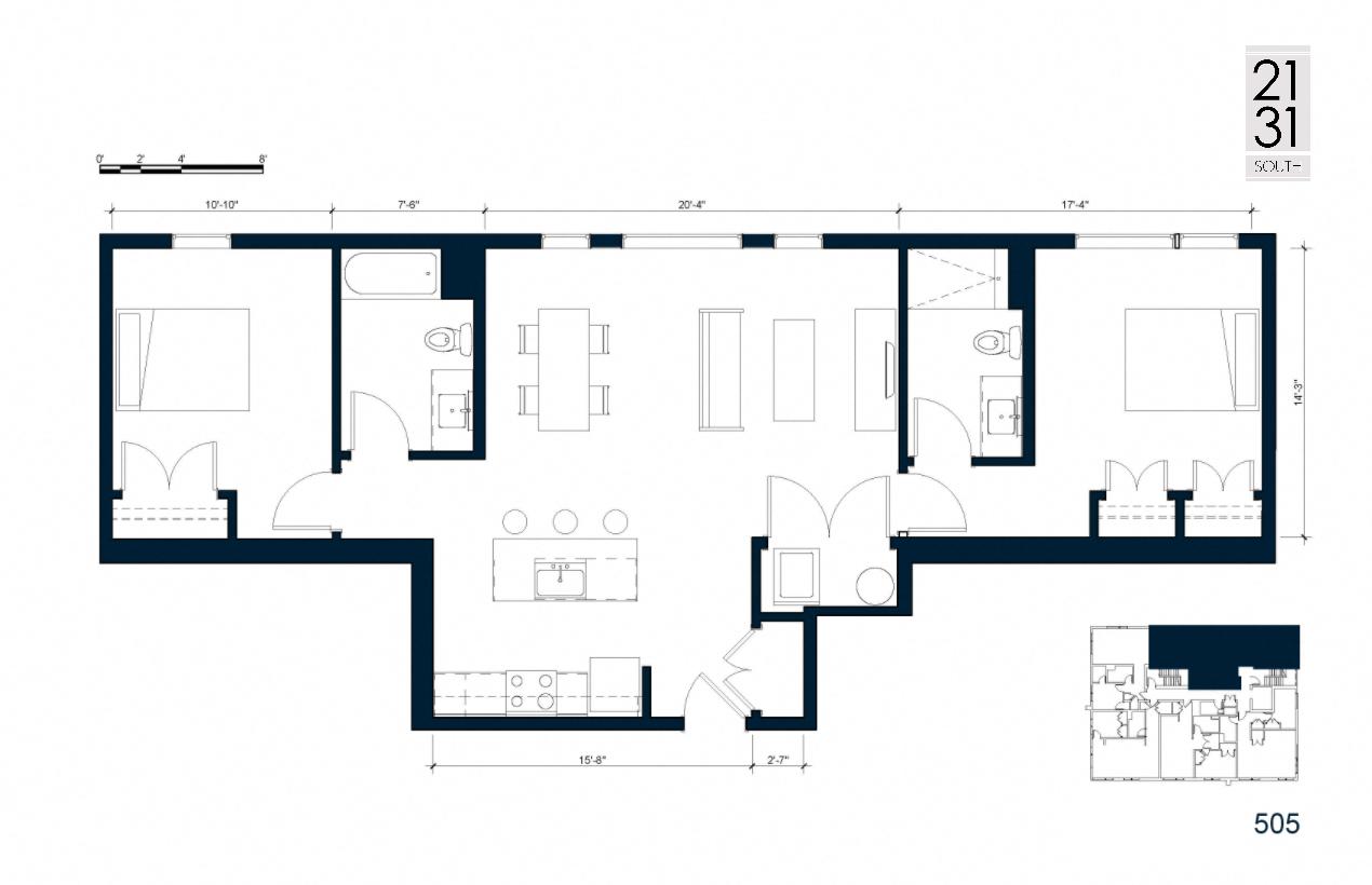 The Royer Lofts Floor Plans
