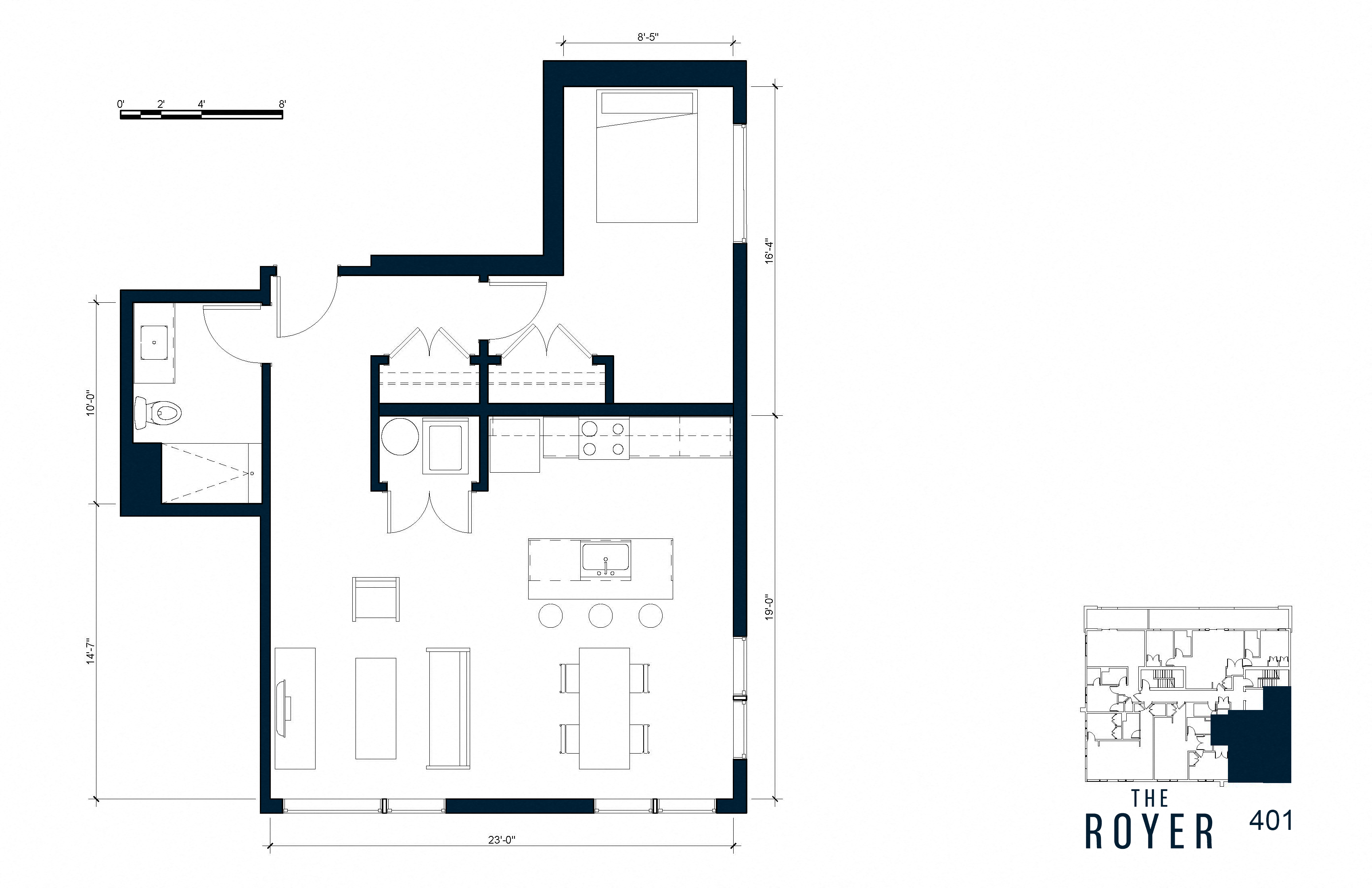The Royer Lofts Floor Plans