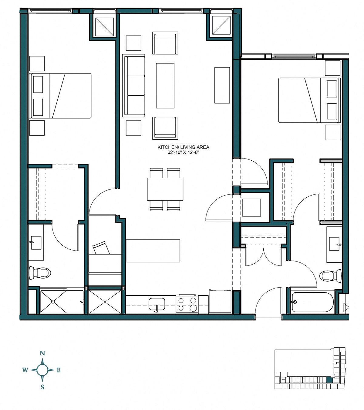 Lincoln Square Floor Plans