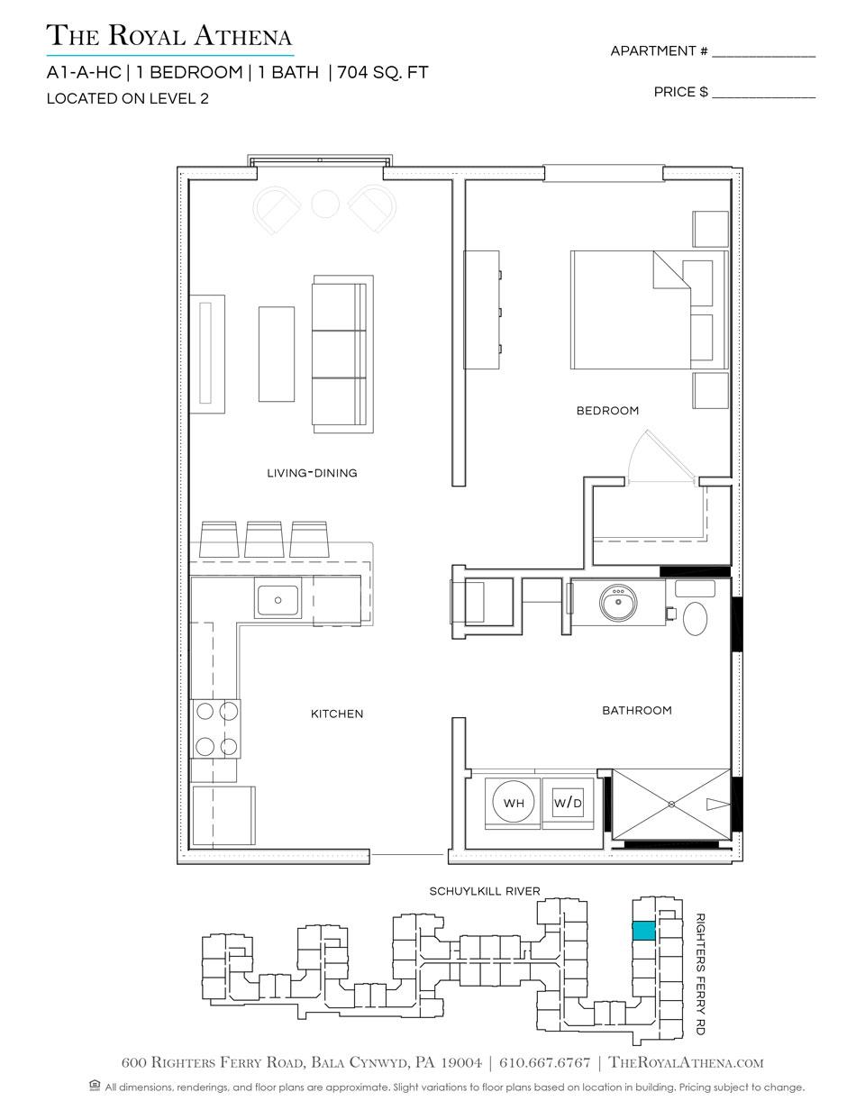P0659218 a1 hc 2 floorplan