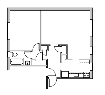 The Wynnewood Lofts Floor Plans